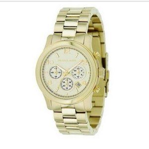 MICHAEL KORS • Gold Plated Watch MK-5505